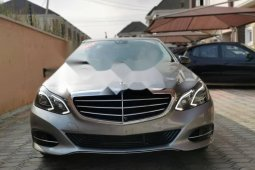 Foreign Used Mercedes-Benz E350 2014 Model Silver