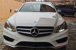 Foreign Used Mercedes-Benz E350 2014 Model White