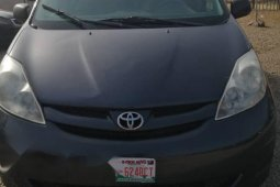Foreign Used Toyota Sienna 2006 Model Black