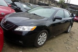 Foreign Used Toyota Camry 2009 Model Black