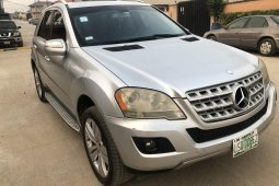 Nigeria Used Mercedes-Benz ML350 2009 Model Silver