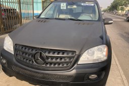 Tokunbo Mercedes-Benz ML350 2007 Model Black