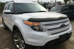 Foreign Used Ford Explorer 2012 Model White