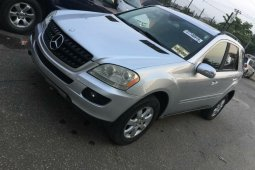 Foreign Used Mercedes-Benz ML350 2006 Model Silver