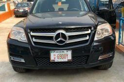 Foreign Used Mercedes-Benz GLK 2011 Model Black