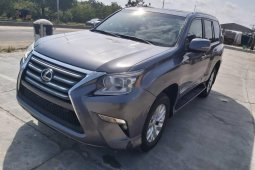 Foreign Used Lexus GX 2016 Model Gray