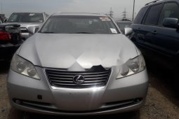 Foreign Used Lexus ES 2007 Model Silver