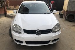 Foreign Used Volkswagen Rabbit 2009 Model White