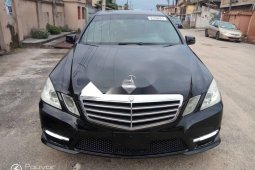 Foreign Used Mercedes-Benz E350 2012 Model Black