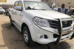 Nigeria Used Toyota Hilux 2010 Model White