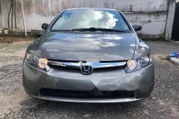 Foreign Used Honda Civic 2008 Model Gray
