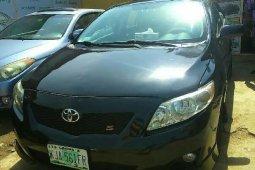 Nigeria Used Toyota Corolla 2011 Model Black