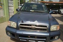 Foreign Used Nissan Pathfinder 2005 Model Blue