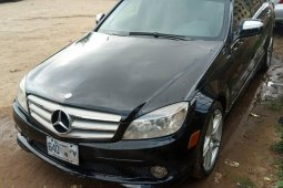 Nigeria Used Mercedes-Benz C300 2008 Model Black