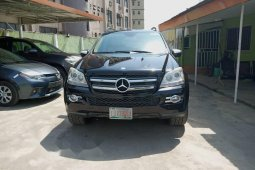 Nigeria Used Mercedes-Benz GL-Class 2009 Model Black