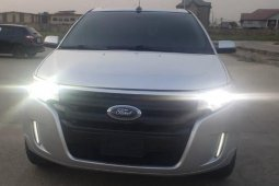 Foreign Used Ford Edge 2011 Model Silver
