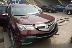 Foreign Used Honda Acura MDX 2008 Model Red