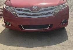 Nigeria Used Toyota Venza 2010 Model Red