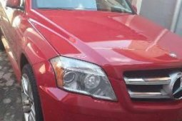 Nigeria Used Mercedes-Benz GLK 2013 Model Red