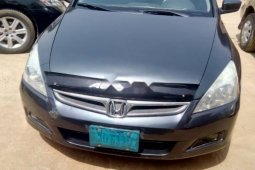 Nigeria Used Honda Accord 2007 Model Gray