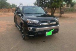 Nigeria Used Toyota 4-Runner 2017 Model Black