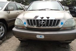 Foreign Used Lexus RX 2003 Model Gold