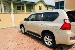 Foreign Used Lexus GX 2010 Model Gold
