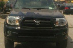 Nigeria Used Toyota Tacoma 2006 Model Black