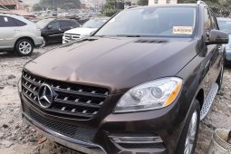 Foreign Used Mercedes-Benz ML350 2012 Model Gray