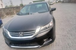 Foreign Used Honda Accord 2014 Model Black