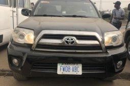 Nigeria Used Toyota 4-Runner 2006 Model Black