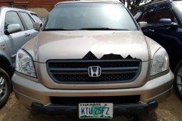 Nigeria Used Honda Pilot 2003 Model Gold