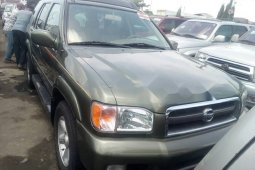 Foreign Used Nissan Pathfinder 2004 Model Green
