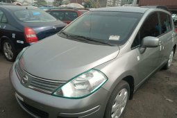 Foreign Used Nissan Versa 2008 Model Green