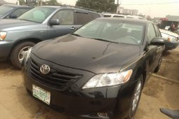 Nigeria Used Toyota Camry 2007 Model Black
