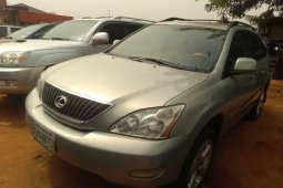 Nigeria Used Lexus RX 2005 Model Silver