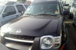 Foreign Used Nissan Xterra 2003 Model Black