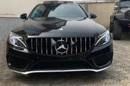 Foreign Used Mercedes-Benz C300 2016 Model Black