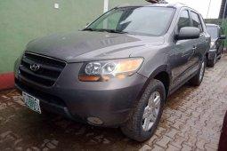 Nigeria Used Hyundai Santa Fe 2009 model Gray