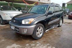 Nigeria Used Toyota RAV4 2004 Model Black