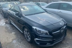 Foreign Used 2015 Silver Mercedes-Benz CLA-Class for sale in Lagos