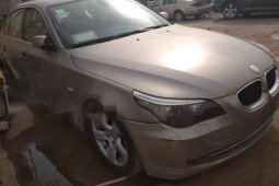 Foreign Used BMW 530i 2005 Model Gold