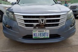Nigeria Used Honda Accord CrossTour 2010 Model Blue