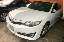 Nigeria Used Toyota Camry 2012 Model White