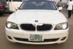 Nigeria Used BMW 7 Series 2007 Model White