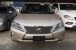 Foreign USed Lexus RX 2013 Model Gold Colour