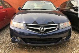 Foreign Used Acura RSX 2007 Model Blue