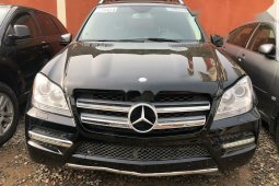 Foreign Used Mercedes-Benz GL-Class 2012 Model Black