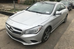 Foreign Used Mercedes-Benz CLA-Class 2015 Model Silver