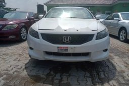 Nigeria Used Honda Accord 2008 Model White